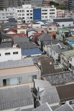 大阪市城東区で狭小住宅。設計力で採光を実現!